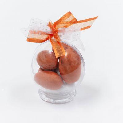 Petite boule plexi orange